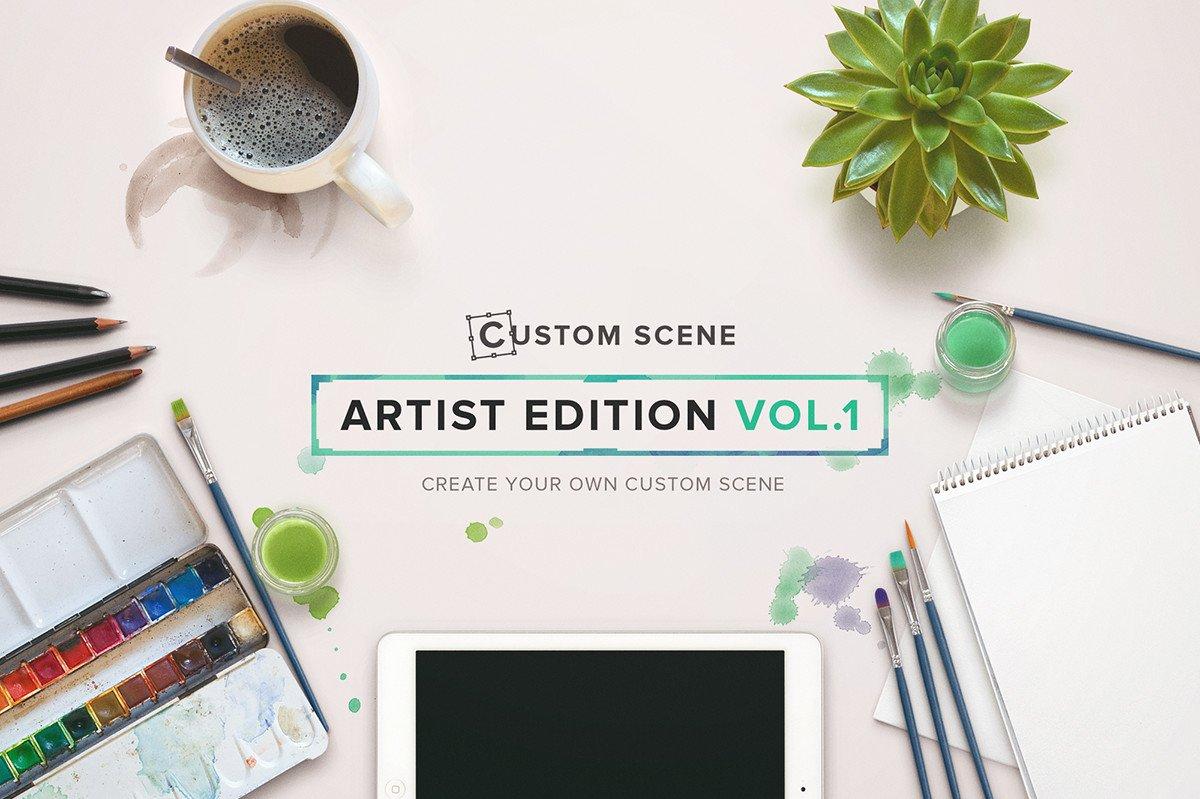 cover custom scene artist ed