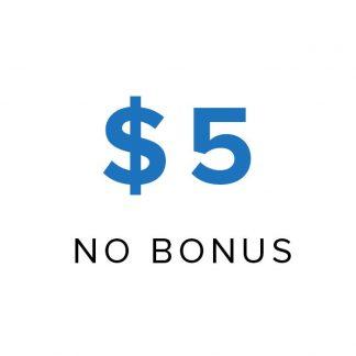 5 store credit