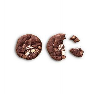 item cover chocolate cookie