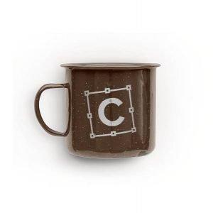 item cover metal camping mug