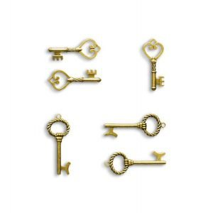 item cover metallic keys