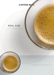 item description coffee glass