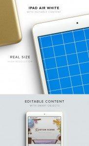 item description ipad mini 3 gold