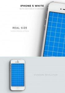 item description iphone 5 white