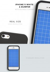 item description iphone 5 white bumper