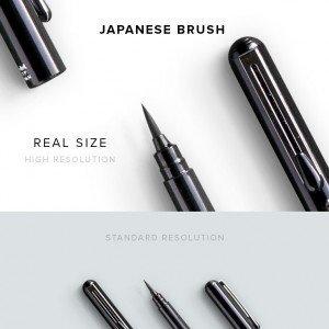 item description japanese brush