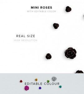 item description mini roses