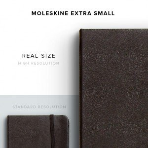 item description moleskine small