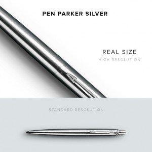item description pen parker silver