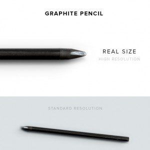 item description pencil graphite