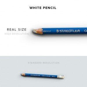 item description pencil white