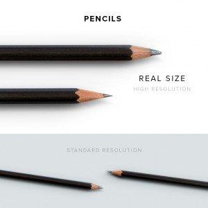 item description pencils