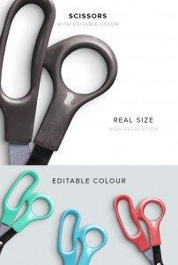 item description scissors