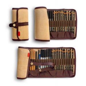 item cover artist pencil case
