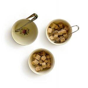 item cover vintage small bowl sugar tong