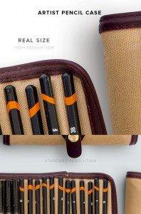item description artist pencil case