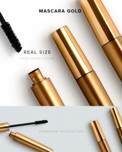 item description mascara gold