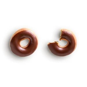 item cover doughnuts chocolate iced