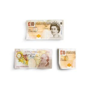 item cover money 10 notes british pounds