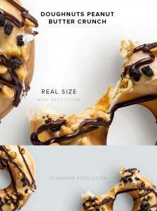 item description doughnuts peanut butter crunch