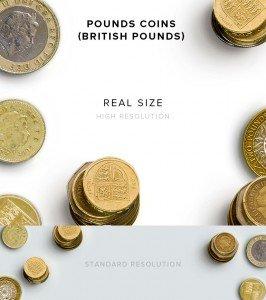 item description pounds coins british pounds