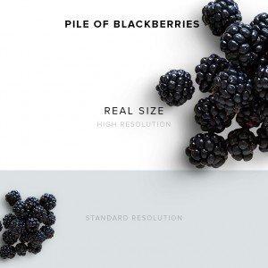 item description blackberries 3