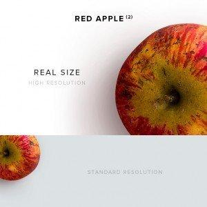item description red apple 2
