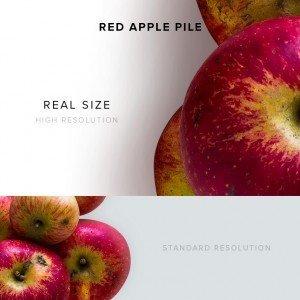 item description red apple pile