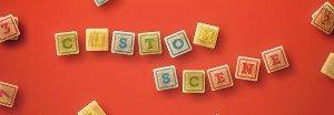 baby edition custom scene wooden letters blocks example
