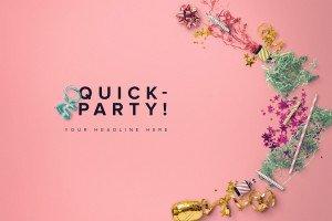 mockup party scene 5 preview