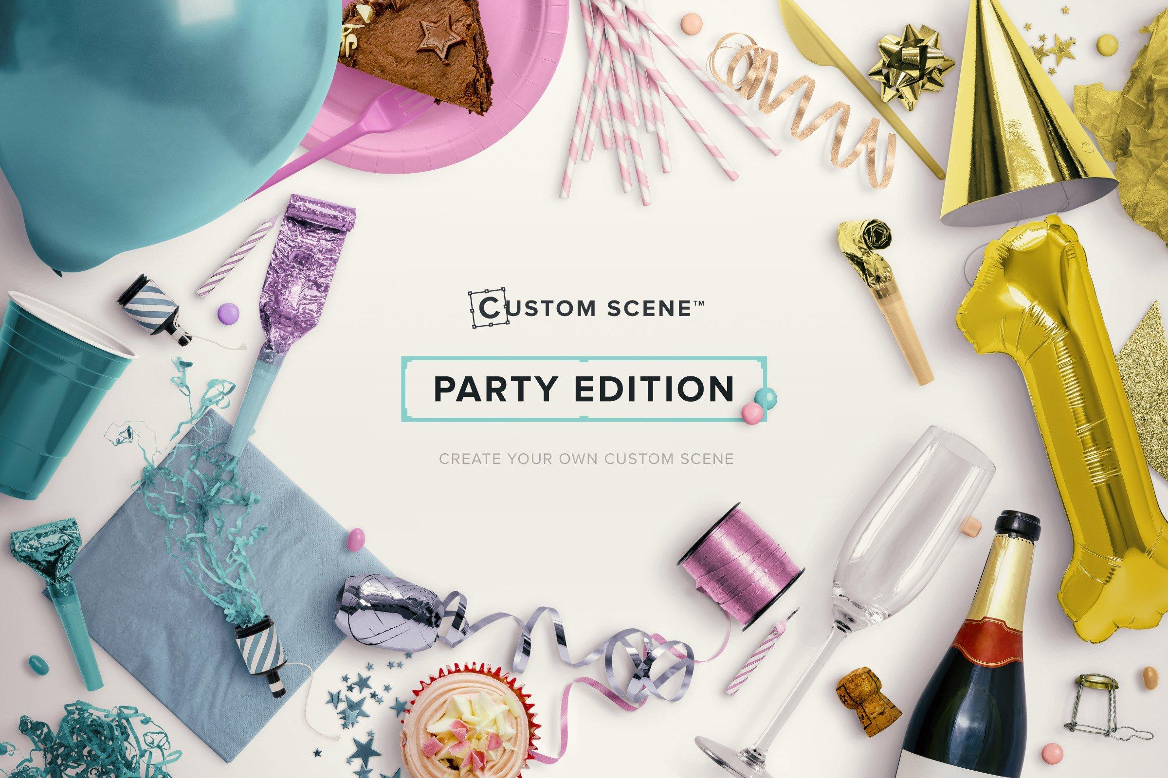 party edition custom scene cover