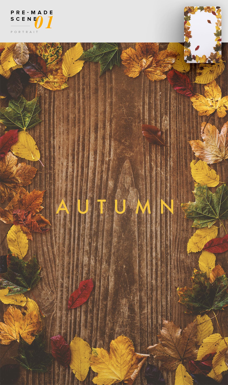 autumn pre made scene 01