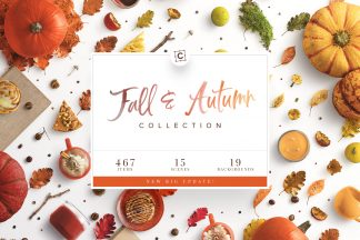 fall autumn collection customscene cover