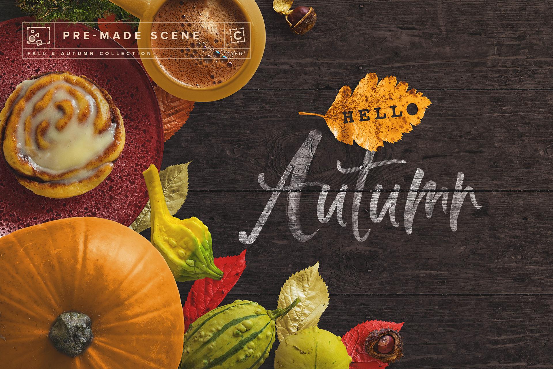 new scene 014 fall and autumn collection customscene