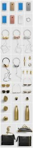 list items accesories