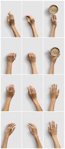 list items hands