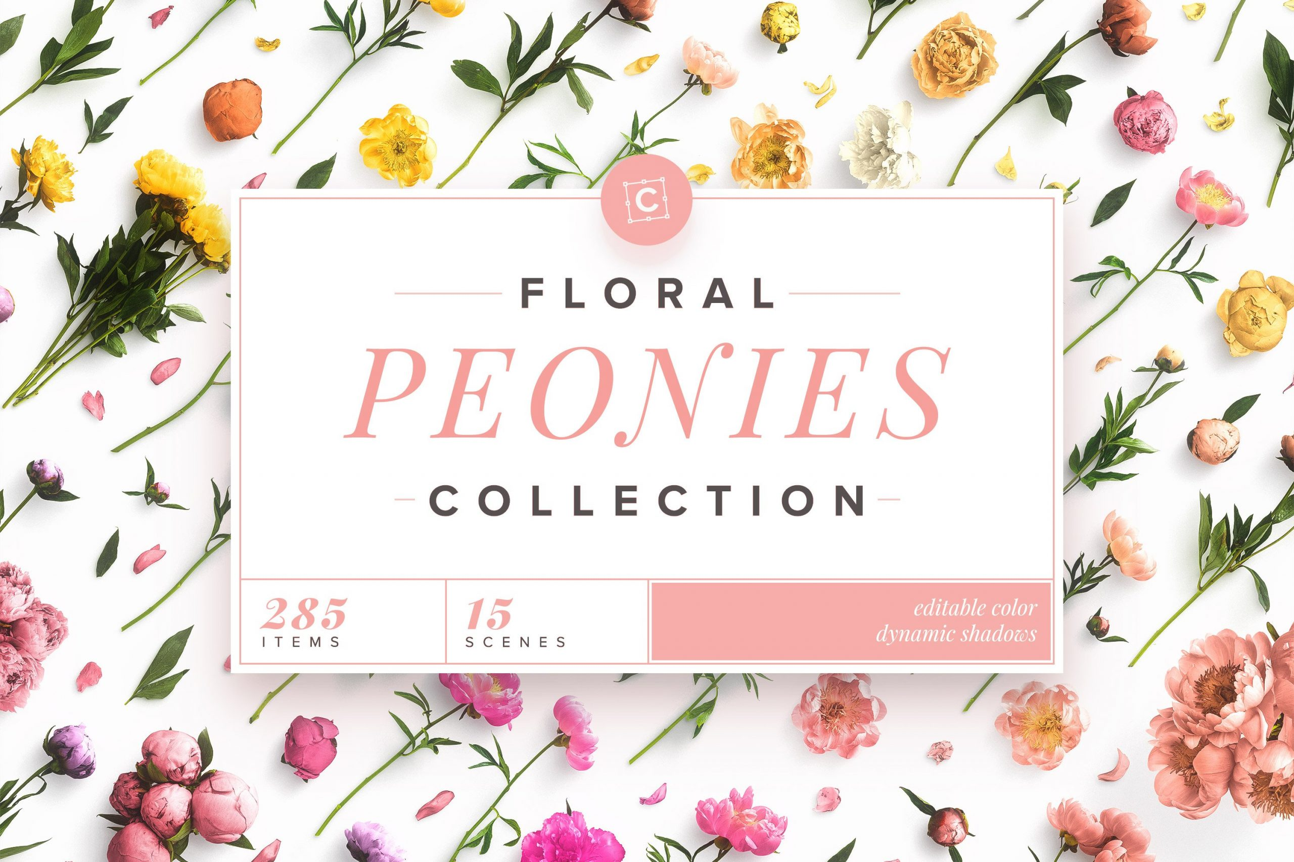cover 3x2 floral collection peonies customscene