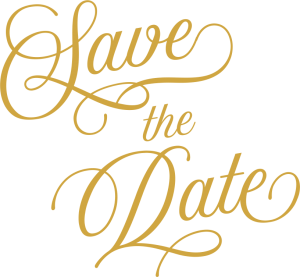 save the date wedding collection customscene