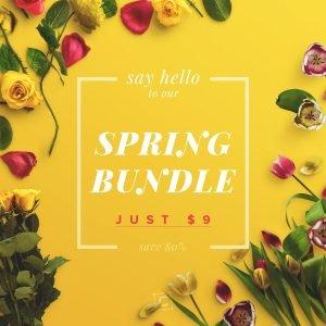 spring bundle customscene 1x1