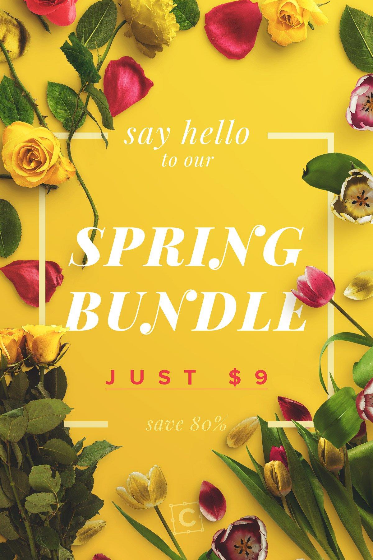spring bundle customscene 3x2