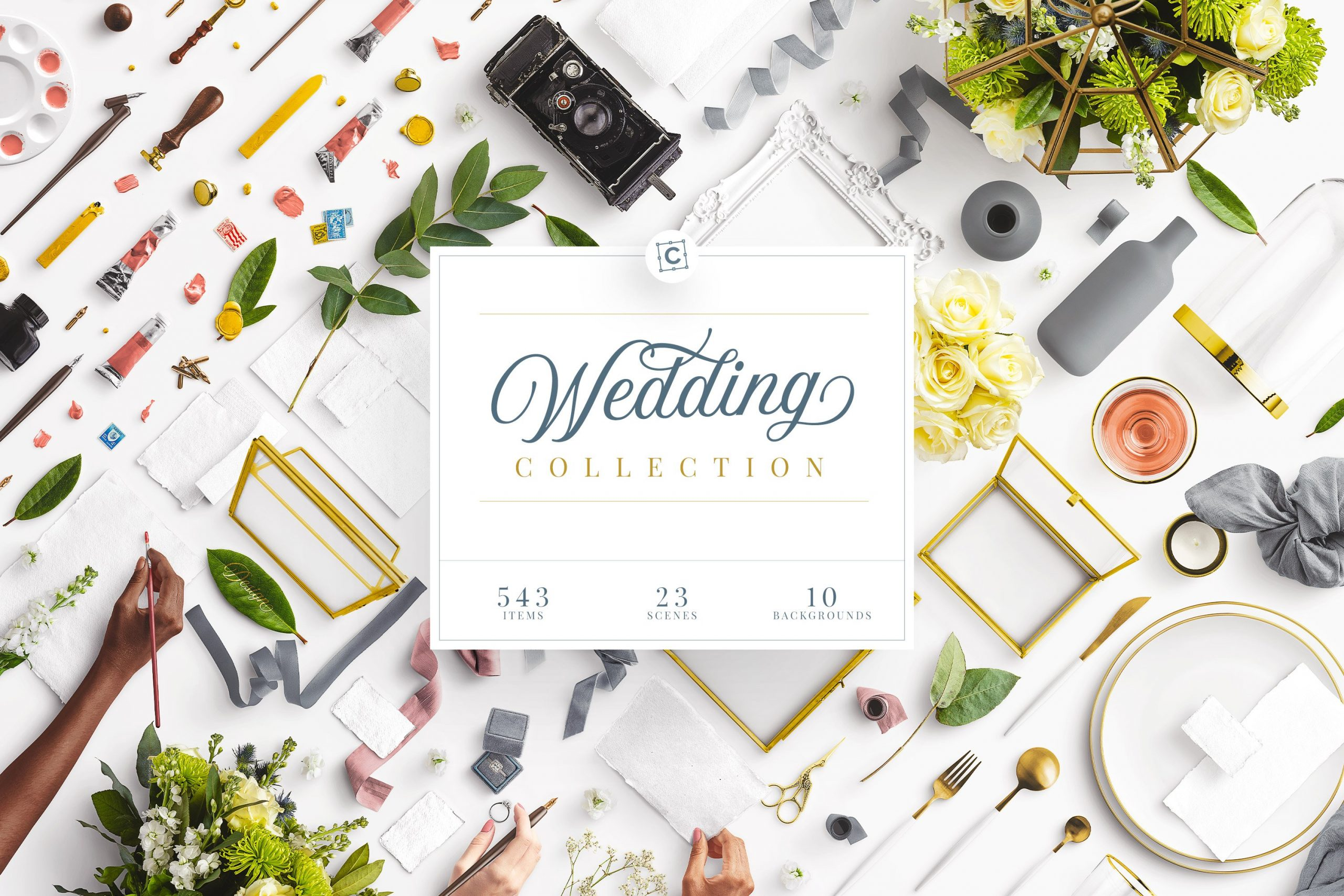 00 Wedding Collection Cover Custom Scene