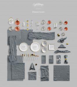 dinnerware wedding collection customscene
