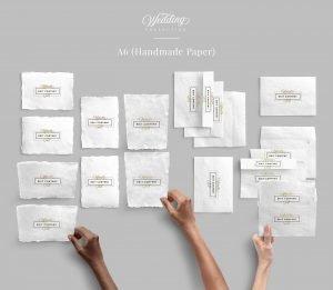 stationery a6 wedding collection customscene