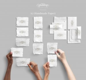 stationery a7 wedding collection customscene
