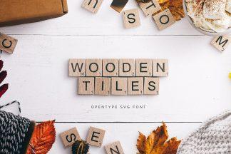 wooden tiles scrabble letters cover