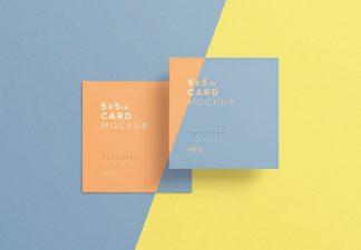 5x5 card mockup thumbnail