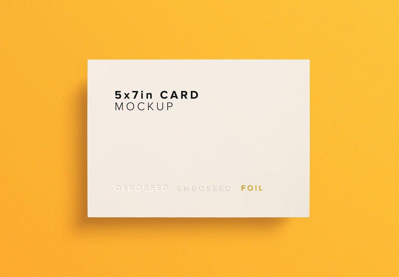 5x7 card mockup thumbnail