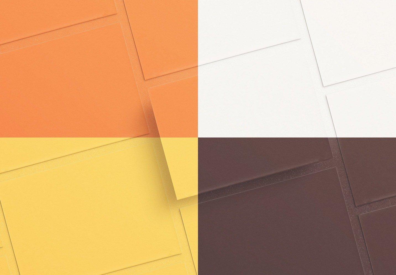 5x7in card mockup diagonal layout image02