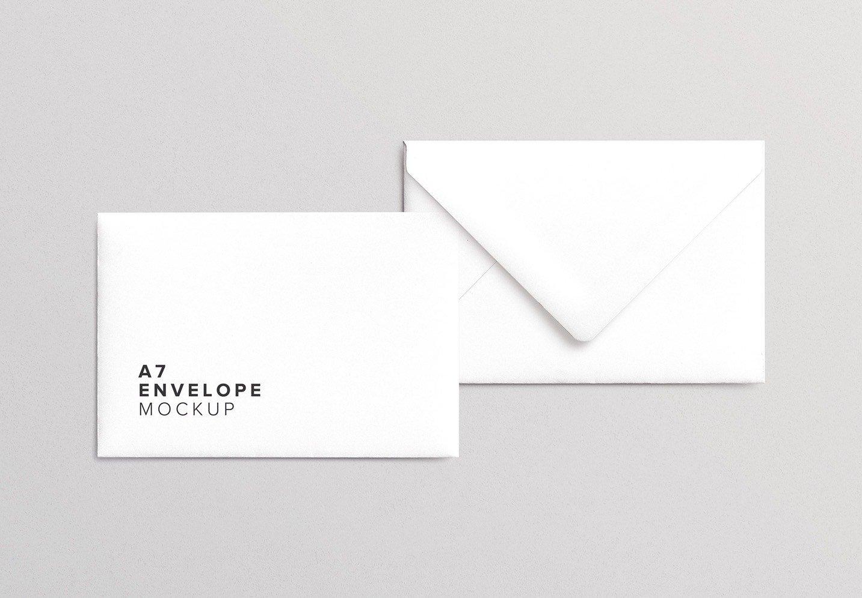 a7 envelope mockup thumbnail