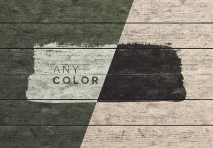 aged rustique wooden planks background mockup image02